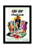 James Bond Live and Let Die One Sheet A3 Framed Print