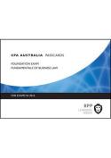 CPA Australia Fundamentals of Business Law