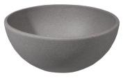 zuperzozial Big Bowl Cereal Bowl, Salad Bowl Diameter 15.8 CM Stone grey