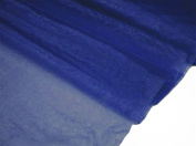 140cm x 40 yards Sheer Organza Fabric Put Up Bolt - Navy Blue