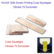 "15cm(6"")Silk Screen Printing Cusp Squeegee Oliness 75 Durometer"