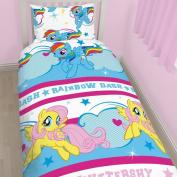 My Little Pony Dash Single Duvet Cover Bed Set Fluttershy
