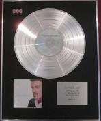 GEORGE MICHAEL CD Platinum Disc-LADIES AND GENTLEMEN