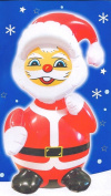 Large Inflatable Santa Clause apx 60cm - Great Fun Christmas Decoration