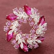 safeinu women girls Diamond brooch