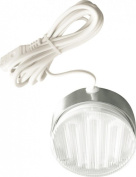 DOWNLIGHT, MAINS 7W SILVER + LAMP D156 By ETERNA & Best Price Square