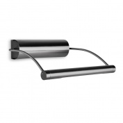 Modern Battery Operated Adjustable Black Chrome Picture LED Wall Light