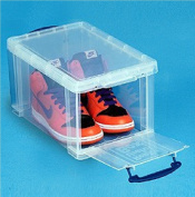 14 litre FRONT OPENING BOX INNOVATIVE DESIGN Really Useful clear storage box *MEGA DEAL 1 FOR £12*