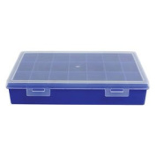 Ex-Pro® Blue Solid Storage Compartment Box 21 Sections