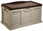 390L Garden Cushion Storage Box / Chest Sit on Lid