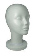 Female Mannequin Polystyrene Head