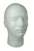 Male Mannequin Polystyrene Head