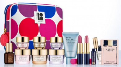 Estee Lauder 7 Pieces Skin Care and Makeup Gift Set (Worth Over $125)
