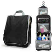 Lavievert Toiletry Bag / Portable Travel Organiser / Household Storage Pack / Bathroom Makeup or Shaving Kit with Hanging for Business, Vacation, Household