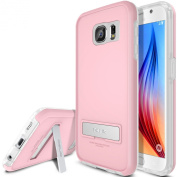 Galaxy S6 Case, OBLIQ [HEAVY DUTY] Samsung Galaxy S6 Cases [SKYLINE ADVANCE][Pink/Frost White]-TOUGH RUGGED armour Protection