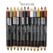 12pcs Nabi Double Sided Eye Liner & Shadow