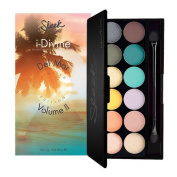 Sleek i-Divine Mineral Based Eyeshadow Palette - Del Mar Volume 2