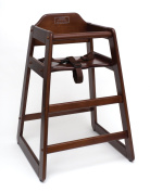 Lipper International 516WN Highchair, Walnut