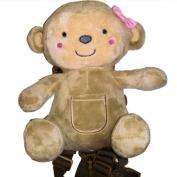 Child of Mine 2-in-1 Harness Buddy (Girl Bear) by Goldbug