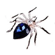 Engerla's Groom Spiders Vintage Brooch Gold Pin for Wedding