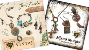 GET Both Vintaj Books, Mixed Metals and Jess Lincoln Design Techniques. That's a Total of 90 Pages and 39 Projects!