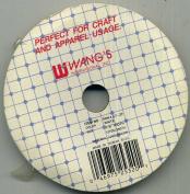 Wang's Ribbon White 0.3cm X 10 Yds. 100% Nylon