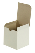 Premier Retail Packaging 10 Count White Gloss Gift Box, 4 x 10cm x 10cm