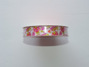 CraftSmart 100% Polyester 1.6cm . x 2.7m Decorative Ladybug Pattern Ribbon - Great for Any Occasion!
