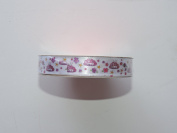 CraftSmart 100% Polyester 1.6cm . x 2.7m Decorative Tiara Ribbon - Great for Any Occasion!
