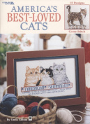 AMERICA'S BEST LOVED CATS PATTERN BOOK FROM LEISURE ARTS