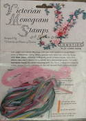 Ribbon Kit - Victorian Monogram Stamps - A Garden Alphabet
