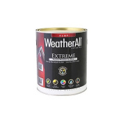 true value mfg company waef13.2l WAEF14, True Value, Premium Weatherall Extreme Paint/Primer In One, QT, Black