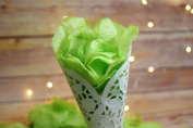 Light Lime Green Silk Rose Petals Confetti for Weddings in Bulk by PaperLanternStore
