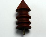 CHENGYIDA 1PC Mini For For For For For For For For Dremel Hole master Tip , Cocobolo Burnisher, leather slicker tool 2.8*2CM