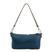 Women's Leather Clutch Purse Shoulder Bag Crossbody Bag