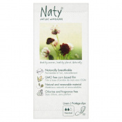 Naty by Nature Womencare Bio Breathable Normal Pantyliners (32) - Pack of 2