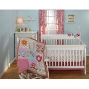 Bundle-01 Sweet Lil Birds Crib Bedding Set
