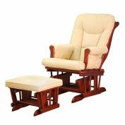 Sleigh Glider Chair - Cherry