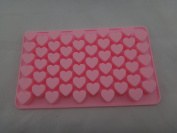 DD-life Mini Heart Silicone Mould for Soap Embeddables Chocolate Candy Cake Decoration