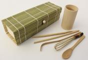 Zoie + Chloe 100% Natural Bamboo Japanese Matcha Tea Gift Set