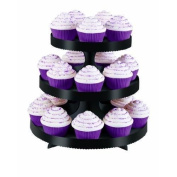Wilton Black Borders Cupcake Stand New