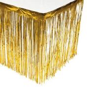 Gold Fringe Table Skirt