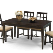 Progressive Furniture P107D-10 Casual Traditions Traditional Style Rectangular Dining Table, Walnut