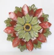 TWG Sunburst Sunburst Floral Wall Art