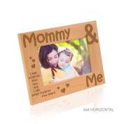 Kate Posh - Mommy & Me - I may outgrow your lap, but I will never outgrow your heart - Picture Frame