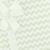 Party Paper Gift Wrap - Chevron - Grey Fizz by SmashCake & Co.