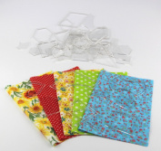 Patchwork Templates Triangles & Hexagons And Squares & Sector Set Of 27
