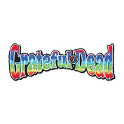 Application Grateful Dead Rainbow Logo Patch