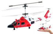 JP Commerce s111g 3.5ch Syma S111G Mini US Coast Guard RC Helicopter with Gyro