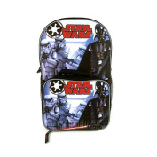 Star Wars Grey 41cm Backpack with Detachable Lunch Box